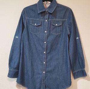 Najia symbol long sleeves  blouse size 3xL